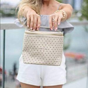 Kate Spade Deco Polka Dot Lunch Tote Bag